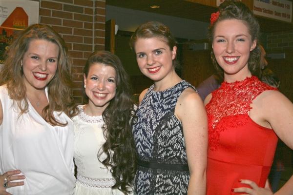 Ali Rose Harton, Allsun O''Malley, Gillian Mariner Gordon and Mia Aguirre Photo