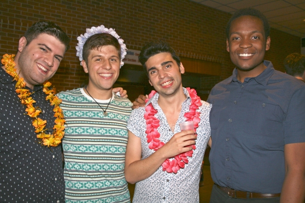 Michael Anthony Russo, Connor Colbert, Brad Foster Reinking, and Aaron Michael Ray Photo
