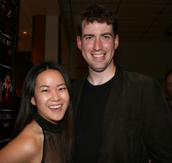 Samantha Ma (Liat) and Mark Linehan (Lt. Cable)