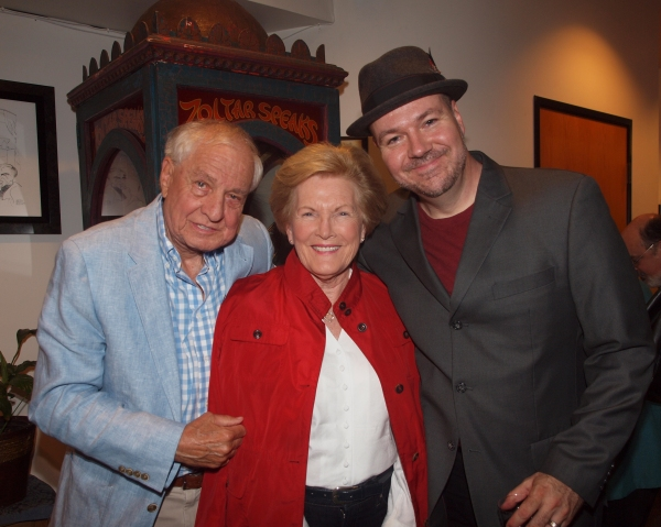 Garry Marshall, Barbara Marshall, and Rob Nagle