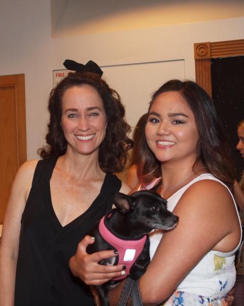 Beth Kennedy, Panda, and Joren Maure Garcia