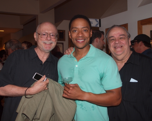 Jason Turner, Don Grigware, and friend