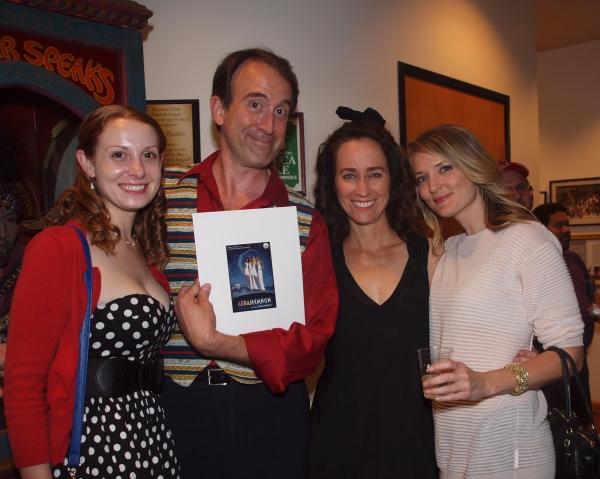 Gillian O'Neal, Dink O'Neal, Beth Kennedy, and Marissa Ingrasci