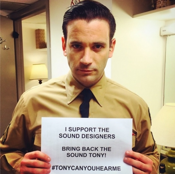 Photo Flash: Stars Take to Twitter with #TonyCanYouHearMe?
