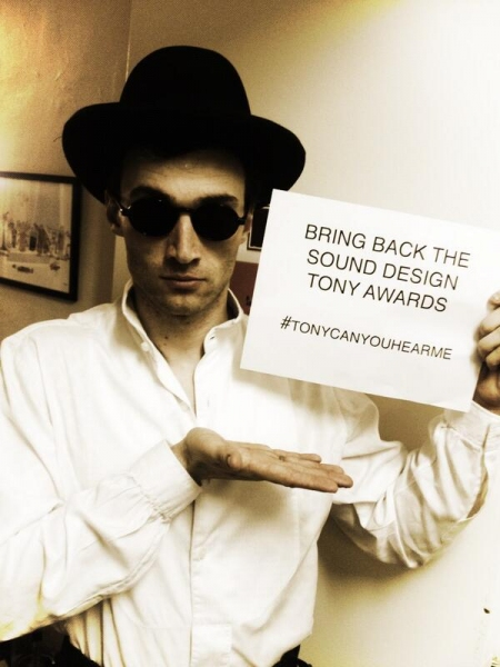 Photo Flash: Stars Take to Twitter with #TonyCanYouHearMe?