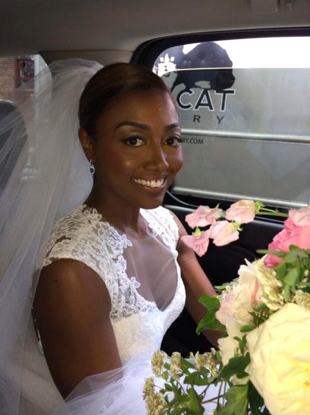 Photo Flash: Tony Winner Patina Miller Weds David Mars in New York City!