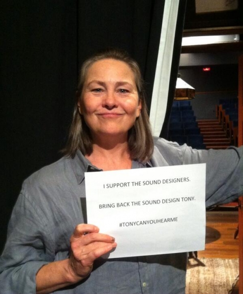 Photo Flash: Cherry Jones, Jefferson Mays & More Join the #TonyCanYouHearMe Movement