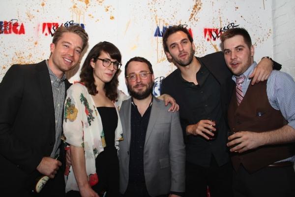 Daniel Abeles, Laura Ramadei, Stephen Brackett, Lucas Kavner & Nate Miller Photo Credit: Samantha Hill