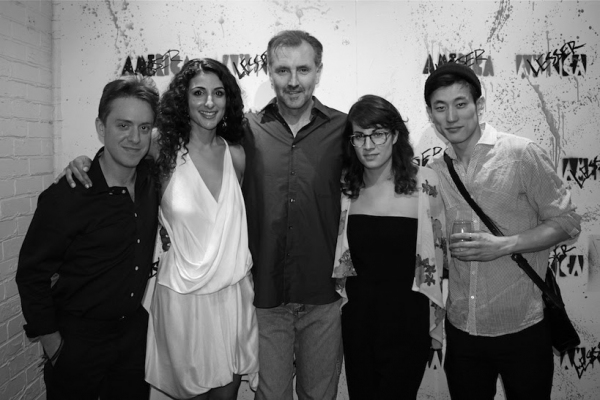 Cast Members Max Jenkins, Danelle Eliav, Randall Newsome, Laura Ramadei & Jake Choi Photo Credit: Stacey Abeles