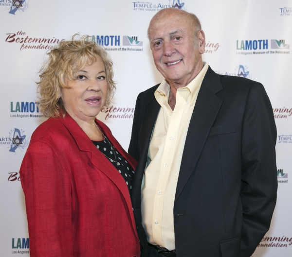 Corky Hale Stoller and Mike Stoller attending An International  Evening of Music and Remembrance celebrating the Voices of Holocaust Survivors  through a performance of Sharon Farber's Bestemming: Concerto for Cello, Orchestra   and Narration inspi
