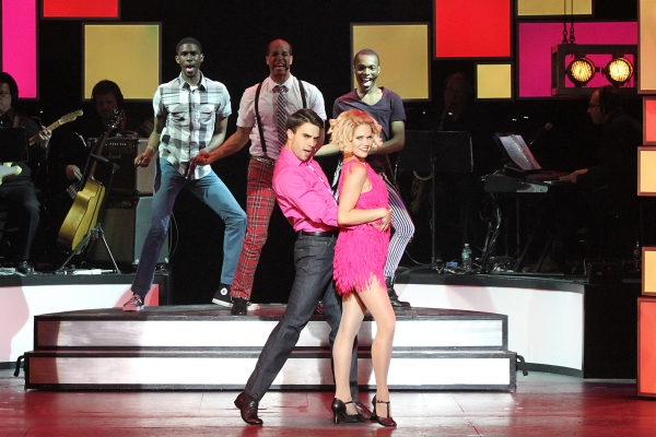 Seth Danner & Erin McGrath sing ''Teach Me How to Shimmy.'' Malcom Armwood, Jody Reyn Photo