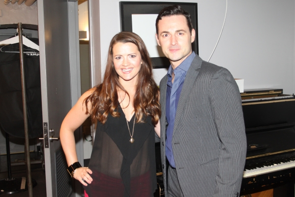 Photo Coverage: Backstage at BroadwayWorld.com's THE LORD AND THE MASTER at Joe's Pub!