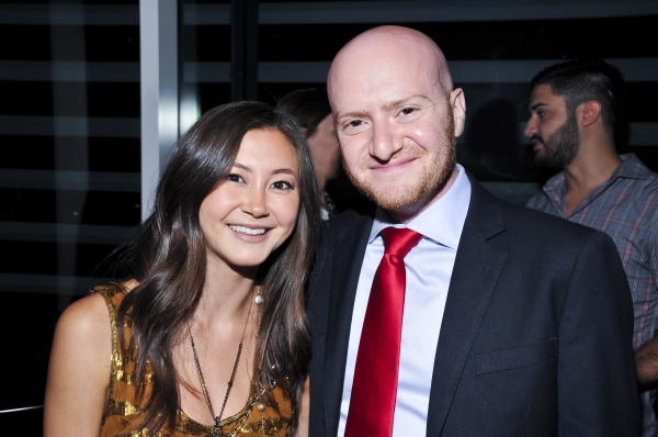 Kimiko Glenn and Joshua Kahan Brody