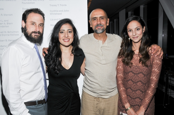 Company members Greg Keller, Nadine Malouf, Bernard White and Tala Ashe