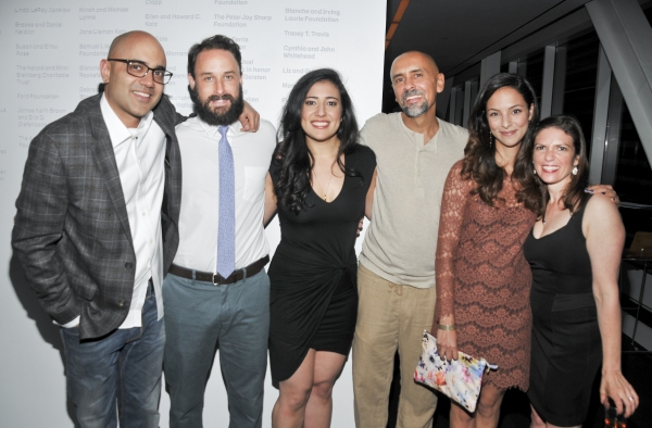 Playwright Ayad Akhtar, director Kimberly Senior and cast