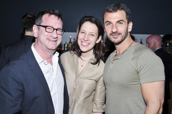 Daniel Swee, Maxine Sleeper and Michael Aronov Photo