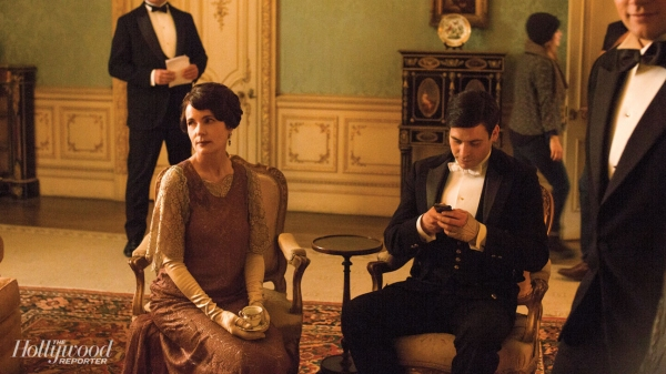 Hugh Bonneville, Elizabeth McGovern, Rob James-Collier