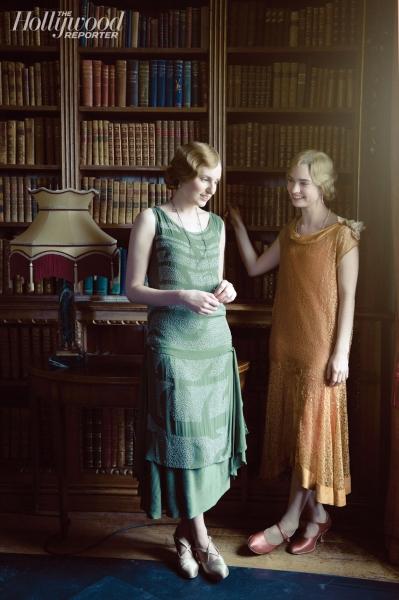 Laura Carmichael, Lily James