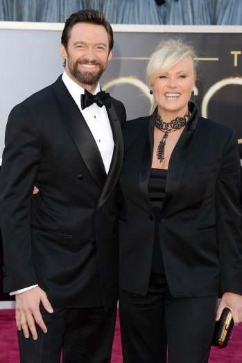 2014 Sing for Hope Gala Host Committee Members Hugh Jackman and Deborra-Lee Furness