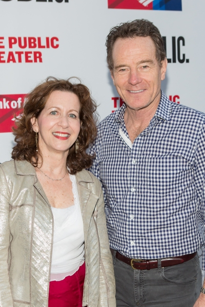 Betsy Aidem and Bryan Cranston