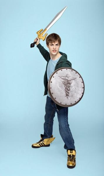 Eric Meyers as Percy Jackson Photo