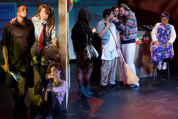 Photo Flash: First Look at THE ZOMBIES: A MUSICAL at the Peter J Sharp Theater