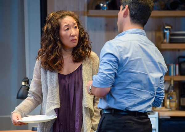 Sandra Oh and Raul Castillo
