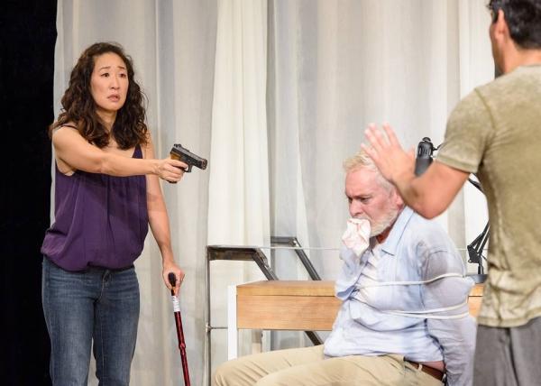 Sandra Oh and John Judd