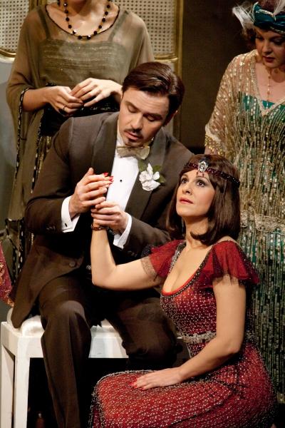 Marius Brenciu as Prunier and Angela Gheorghiu as Magda