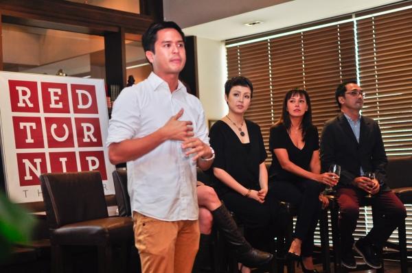 Topper Fabregas, Cris Villonco, Ana Abad Santos, Rem Zamora Photo