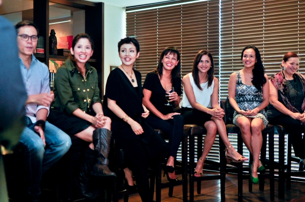 Michael Williams, Jenny Jamora, Cris Villonco, Ana Abad Santos, Agot Isidro, Che Ramos-Cosio, Sheila Franciso