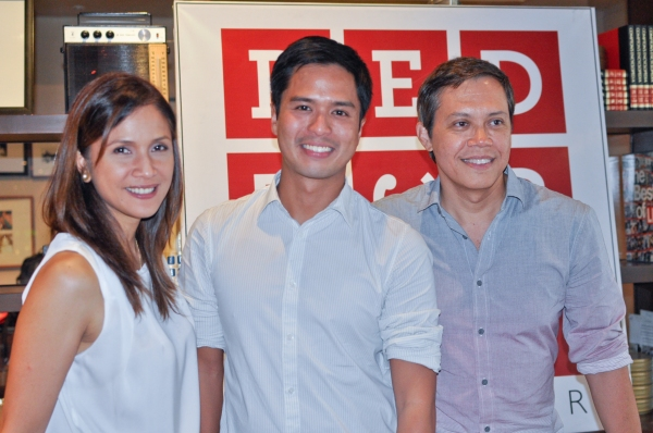 Agot Isidro, Topper Fabregas, Michael Williams Photo