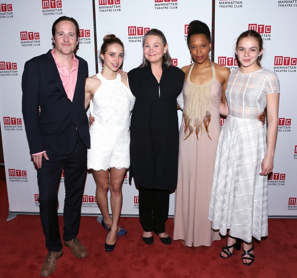 Patch Darragh, Zoe Kazan, Cherry Jones, Cherise Boothe and Morgan Saylor