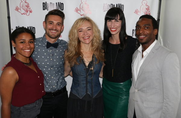 Ariana DeBose, Mo Brady, Rachel Bay Jones, Nikka Graff Lanzarone and Daniel Watts