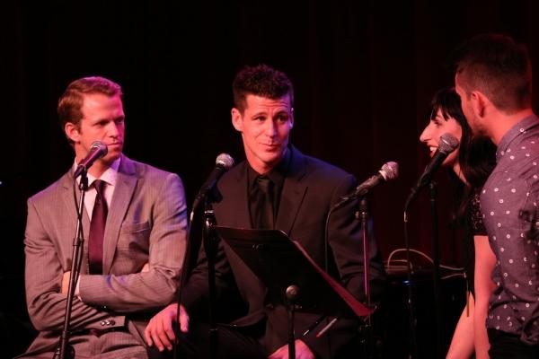 Jeffrey Pew, Luke Hawkins, Nikka Graff Lanzarone and Mo Brady Photo