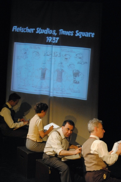 Photo Flash: Sneak Peek at Steven Rattazzi and More in Rehearsal for KING KIRBY at the Brick