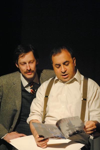 Nat Cassidy and Steven Rattazzi Photo