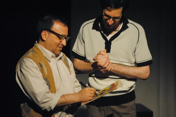Steven Rattazzi and Nat Cassidy Photo