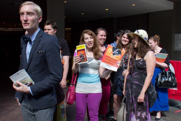 Photo Coverage: GENTLEMAN'S GUIDE Brings Tony Award Home to Walter Kerr Theatre