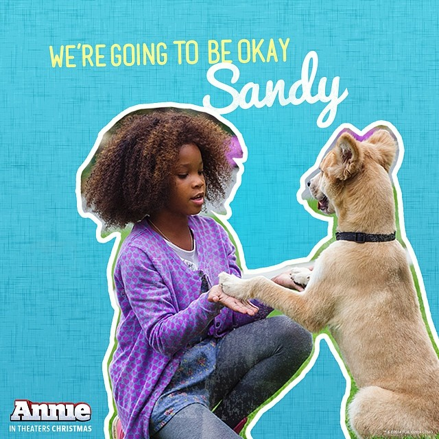 Jamie Foxx In New ANNIE Movie Promotional Social Media Image