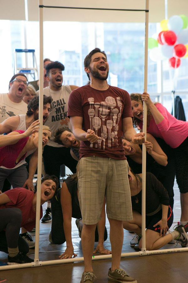 Jeremy Jordan Monkeys Around In New FINDING NEVERLAND Rehearsal Photos