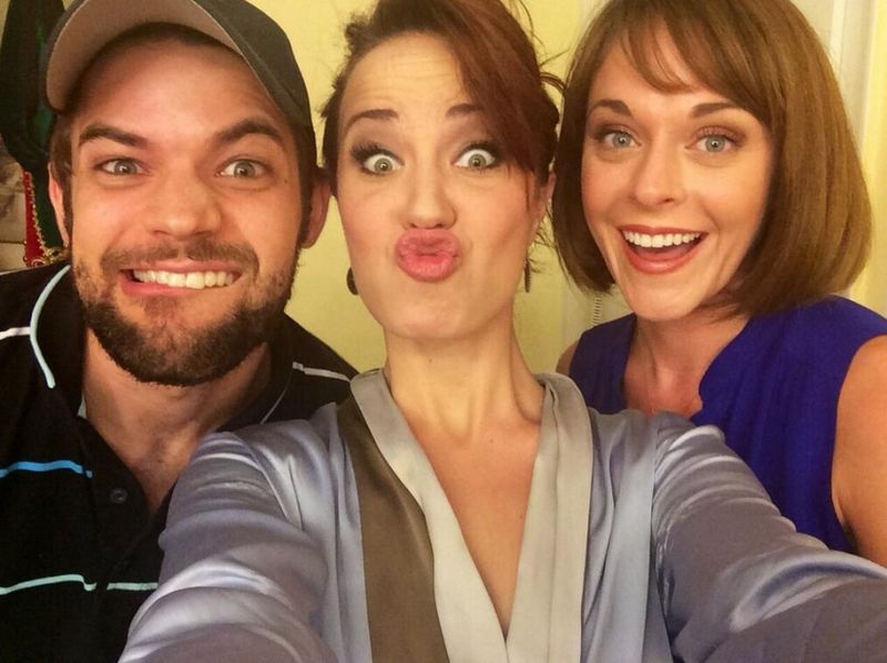 Twitter Watch: Jeremy Jordan & Ashley Spencer Visit Sierra Boggess at THE PHANTOM OF THE OPERA