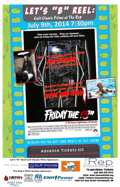 Photo Flash: Seacoast Rep Presents FRIDAY THE 13TH with the Original Jason: Ari Lehman, 7/9