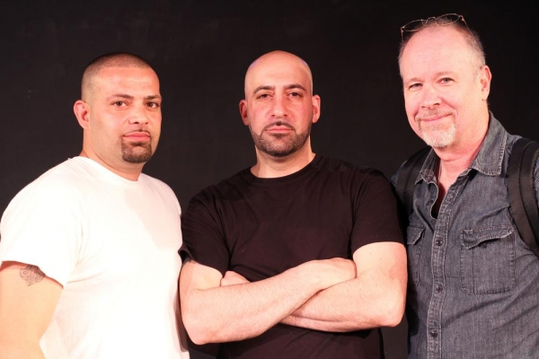 A family affair. David Assadourian (left) joins his brother Joe Assadourian (center) and Director Richard Hoehler (right) for this special weekend.