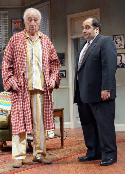 Jerry Adler (Willie Clark) and Richard Kline (Al Lewis) team up as THE SUNSHINE BOYS