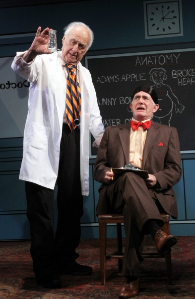 Photo Flash: First Look at Jerry Adler and Richard Kline in CT Rep's THE SUNSHINE BOYS, Beg. Tonight