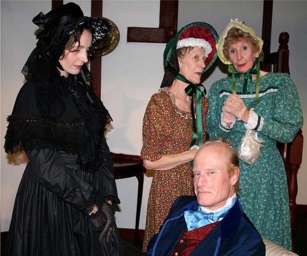 Photo Flash: Meet the Cast of CRANFORD at the Garrick Theatre