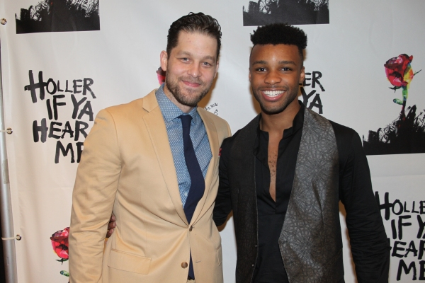 Photo Coverage: HOLLER IF YA HEAR ME Company Celebrates Opening Night!