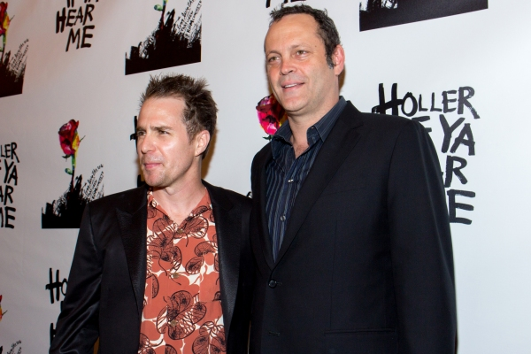 Sam Rockwell, Vince Vaughn Photo