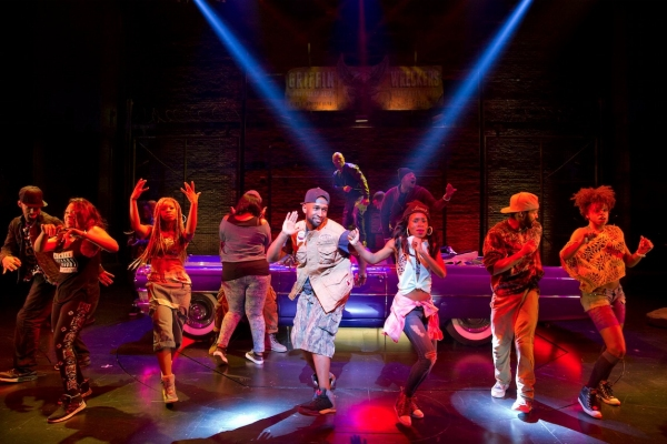 BWW Reviews: New Broadway Musical HOLLER IF YA HEAR ME Shines Light on Music of Tupac Shakur